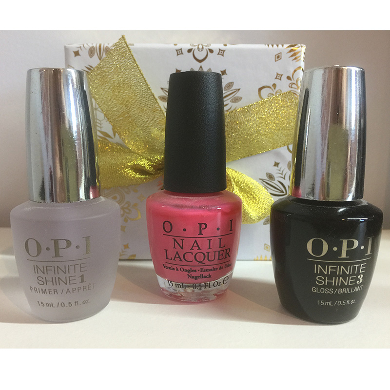 coffret vernis opi trio longue tenue histoire d 39 ongles. Black Bedroom Furniture Sets. Home Design Ideas